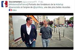 SensioLabs dans Histoires de France