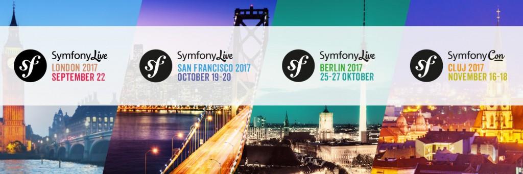 Les prochaines conférences Symfony 2017