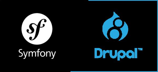 Symfony for drupal8 logo