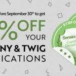 Special Discount: become a Symfony or Twig certified developer before September 30th.