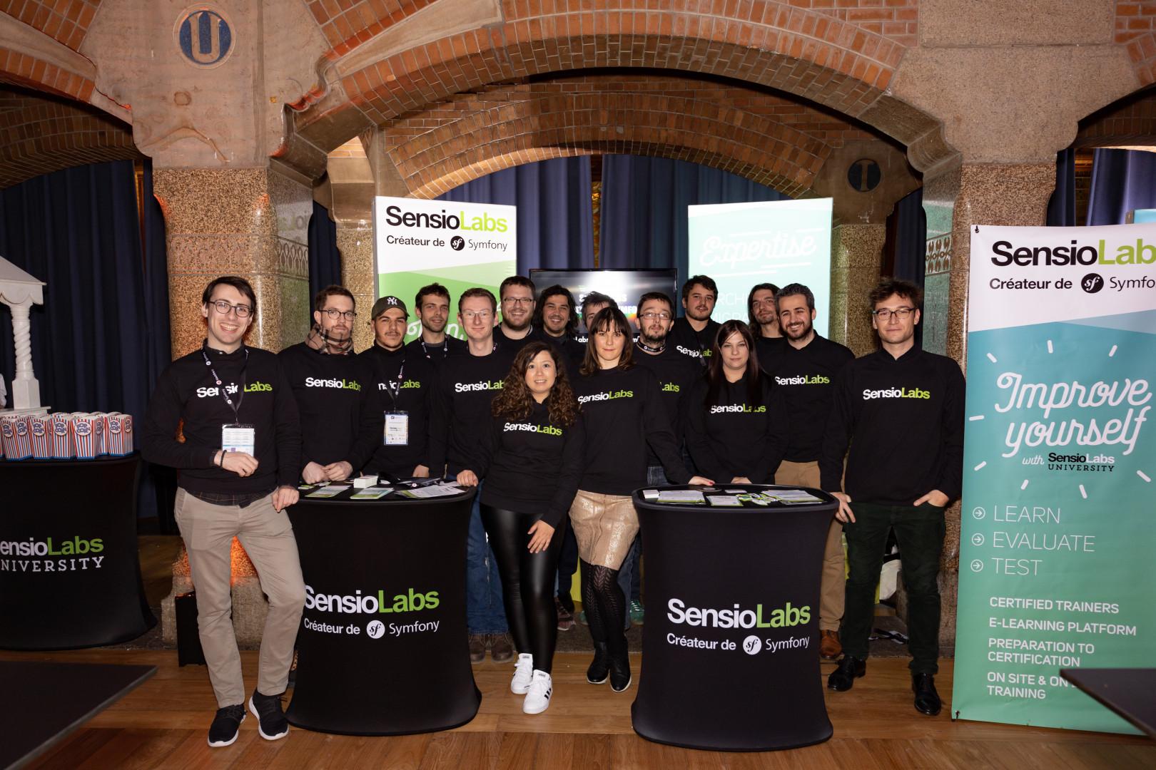 équipe SensioLabs SymfonyCon
