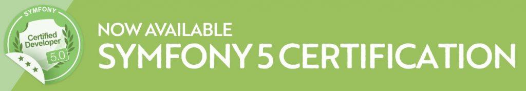 Certification à Symfony 5 disponible cet été