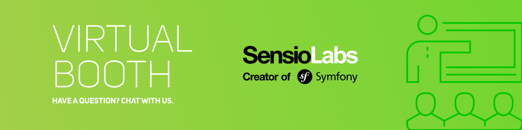 SymfonyWorld SensioLabs Virtual Booth