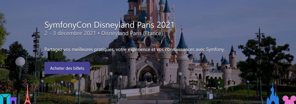 SymfonyCon 2021 Disneyland