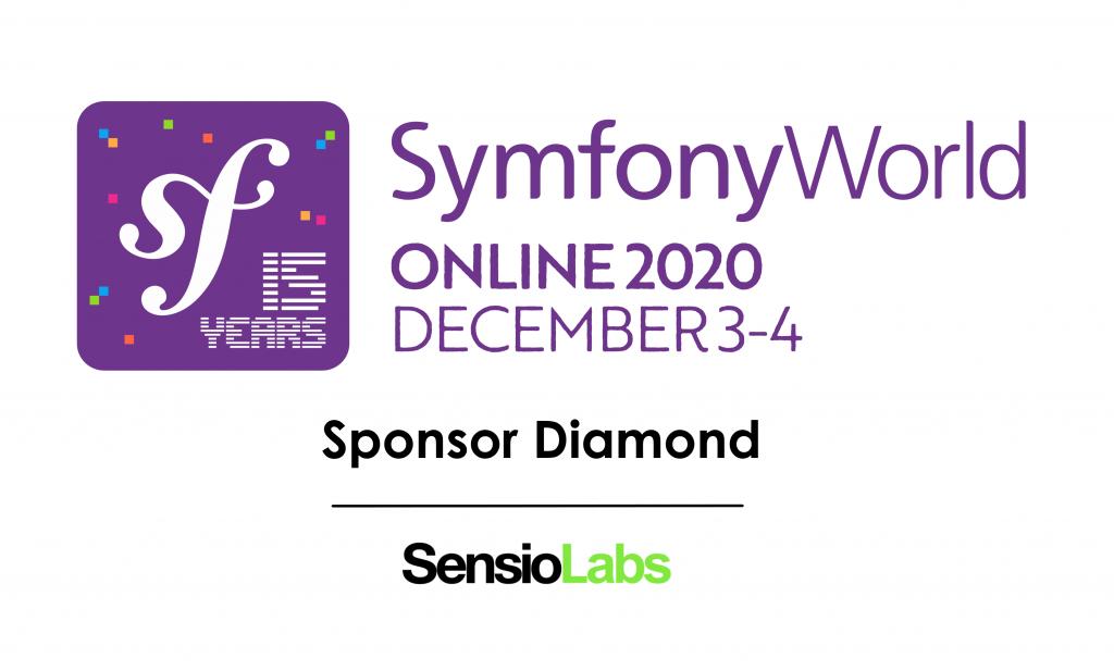 SymfonyWorld 2020 SensioLabs Sponsor