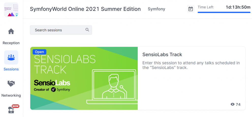 SensioLabs track SymfonyWorld Online 2021 Summer Edition